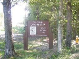 Colonal Dorchester State Park