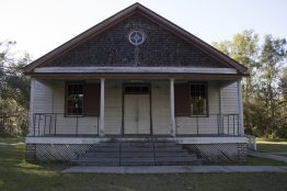 Darrah Hall has now been preserved as a national monument, which is located on the Penn Center Campus.