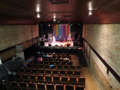 View of the stage in the Amuzu Theatre.