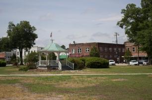 Burgaw, NC town square.